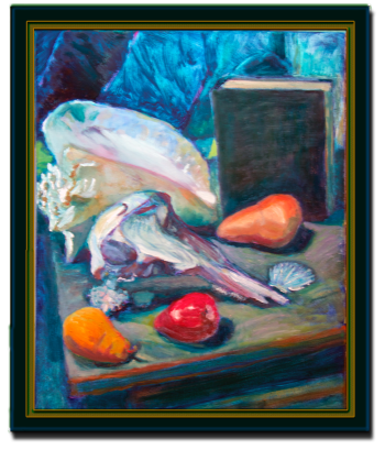 oil on canvas, © Antonio Dias
